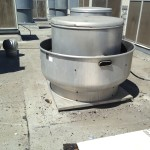 Maruchin Exhaust Vent Existing BEFORE